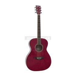 Dimavery AW-303 westernová gitara, červená