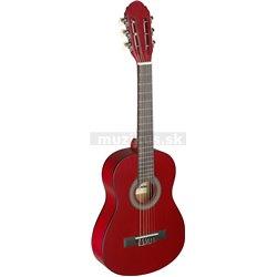 Stagg C405 M RED, klasická kytara 1/4