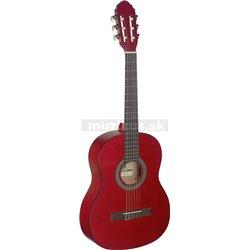 Stagg C430 M RED, klasická kytara 3/4