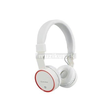 PBH-10 bezdrátová Bluetooth SD sluchátka, bílá
