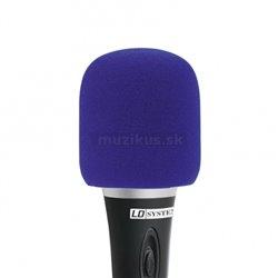 Adam Hall Ochr. kryt mikrofonu modrý
