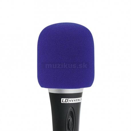 Ochr. kryt mikrofonu modrý (Adam Hall)