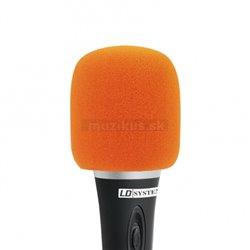 Adam Hall Ochr. kryt mikrofonu oranžový