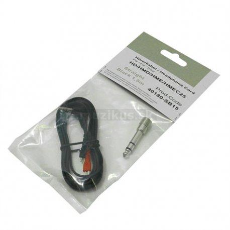 Kabel HD-25 rovný, 1.5m (ZOMO)