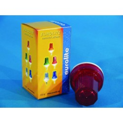 Eurolite LED-Strobe E-14, červený