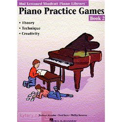 MS Hal Leonard Student Piano Library: Piano Practice Games Book 2