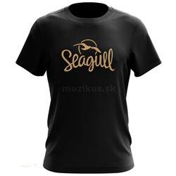 SEAGULL Logo T-Shirt Black S