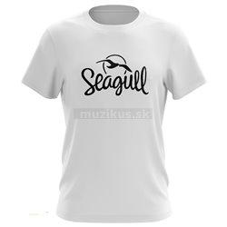 SEAGULL Logo T-Shirt White L