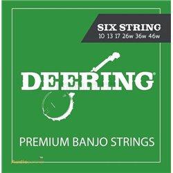 DEERING Banjo Strings 6-String