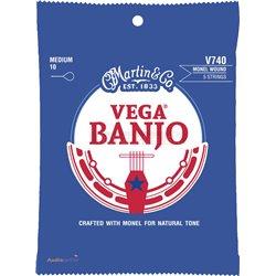 MARTIN Vega Banjo Medium (Monel)