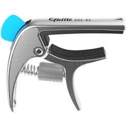 GUITTO GGC-02 Revolver Capo Silver