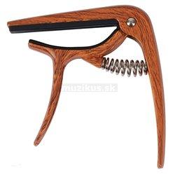 GUITTO GGC-04 Metal Capo Classical Wood