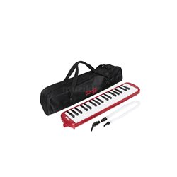 Stagg MELOSTA37 RD MELODICA RED 37KYS+MTHP+TB+BAG