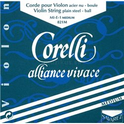 Corelli Corelli struny pro housle Alliance Medium 801M