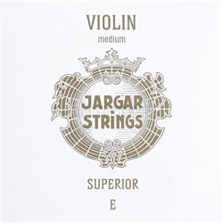 JARGAR STRINGS FOR VIOLIN SUPERIOR E steel tin plated