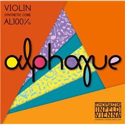 THOMASTIK STRINGS FOR VIOLIN ALPHAYUE NYLON CORE A Synt./Alu. AL02 1/16
