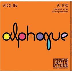 THOMASTIK STRINGS FOR VIOLIN ALPHAYUE NYLON CORE D Synt./Silver AL03A