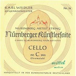Nürnberger Nürnberger struny pro čelo Artist 1/8 35