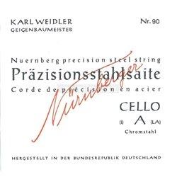 Nürnberger Nürnberger struny pro čelo Precizní 1/4 94
