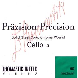 Thomastik-Infeld Thomastik struny pro čelo Precizní ocel Měkké 102w