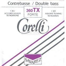 Corelli Corelli struny pro kontrabas Sólo ladění Extra silné 360TX