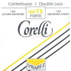 Corelli Corelli struny pro kontrabas Orchestrální ladění Extra silné 380TX