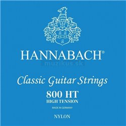 HANNABACH STRINGS FOR CLASSIC GUITAR SERIES 800 HIGH TENSION SILVER PLATED E1 8001HT