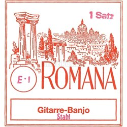 ROMANA STRINGS FOR GUITAR BANJO G3W .020w