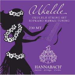 Hannabach Struny pro Ukulele Sada 230