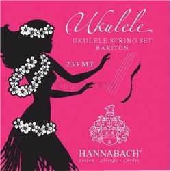Hannabach Struny pro Ukulele Sada 233