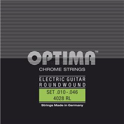 Optima Optima struny pro E-kytaru Chrome Strings. Round Wound E.010 PS010