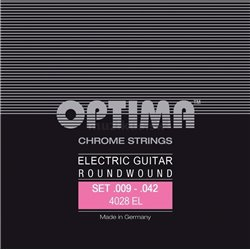OPTIMA STRINGS FOR ELECTRIC GUITAR CHROME STRINGS ROUND WOUND E.009 PS009