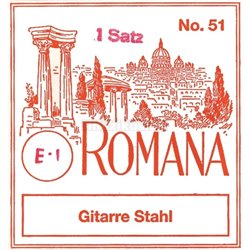 ROMANA STRINGS FOR ACOUSTIC GUITAR E6 .047