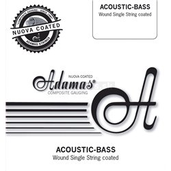 ADAMAS SINGLE STRING NUOVA COATED PHOSPHOR BRONZE .040in./1,02mm