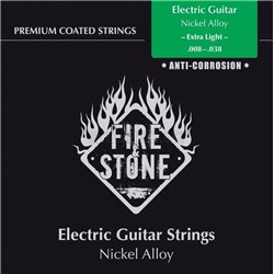 GEWA STRINGS FOR E-GUITAR FIRE&STONE NICKEL ALLOY COATED Set