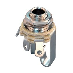 PARTSLAND OUTPUT SOCKET Nickel
