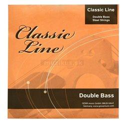 PURE GEWA Struny pro kontrabas Classic Line 1/4 D