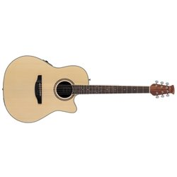 APPLAUSE E-ACOUSTIC GUITAR AB24II MID CUTAWAY Natural AB24II-4