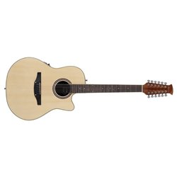 APPLAUSE E-ACOUSTIC GUITAR AB2412II MID CUTAWAY 12-STRING Natural AB2412II-4