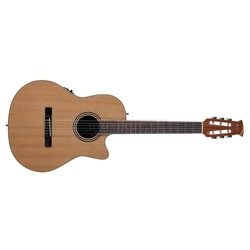 APPLAUSE E-ACOUSTIC CLASSIC GUITAR AB24CII MID CUTAWAY NYLON Natural Satin AB24CII-CED