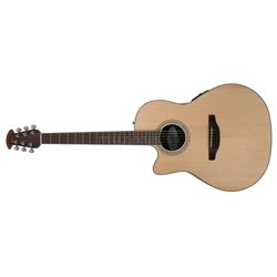 Ovation E – akustická kytara Celebrity Standard Mid Cutaway Natural CS24L-4