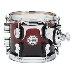 PDP by DW Tom Tom Concept Birch Natural to Charcoal Fade