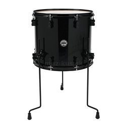 PDP BY DW FLOOR TOM CONCEPT BIRCH Cherry to Black Fade