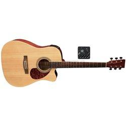 PURE GEWA E – akustická kytara D-10 CE Natur