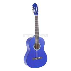 GEWApure Konzertgitarre VGS Basic 3/4 transparentně modrá