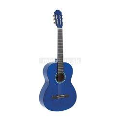 PURE GEWA Koncertní kytara Basic 4/4 transparentně modrá
