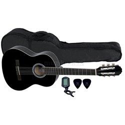 PURE GEWA Koncertní kytara Basic Set 3/4 černá