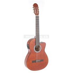 PURE GEWA Koncertní kytara Basic Electro E-akustická, vlašský ořech, slim body