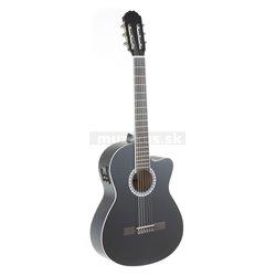GEWApure Konzertgitarre VGS Basic Electro E-akustická, černá