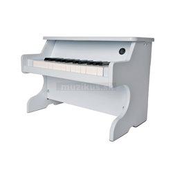 Campanilla Klávesové nástroje Mini Piano bílá Mini Piano